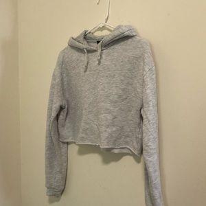 Top shop cropped hoodie